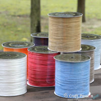 Raffia Yarn - 250 Meter / Roll (26 Colors)