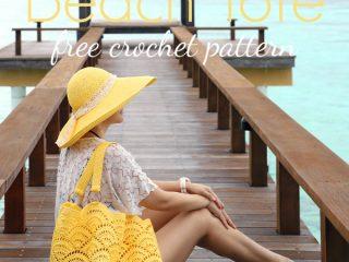 beach tote crochet pattern