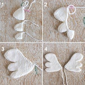 amigurumi wings pattern