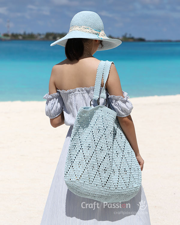 oversized tote crochet pattern