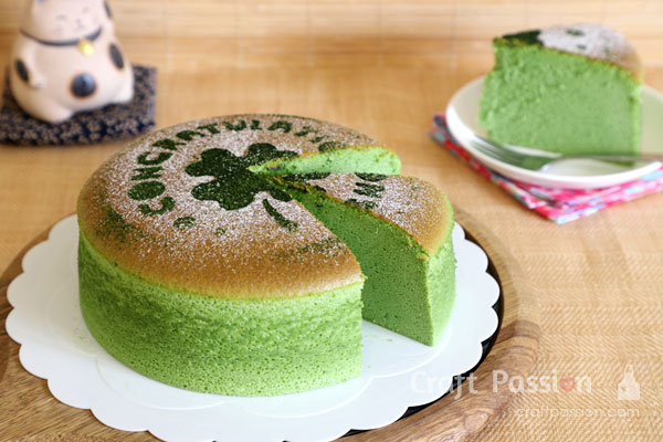 matcha cotton cheesecake