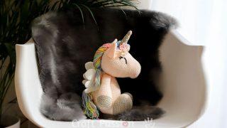 unicorn amigurumi pattern