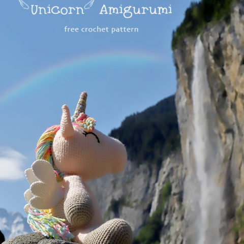winged unicorn amigurumi pattern