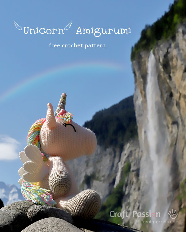 Ravelry: Unicorn and Pegasus EXPANSION PACK pattern by June Gilbank | 750x600