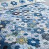 Modern Hexagon Flower Quilt Duvet