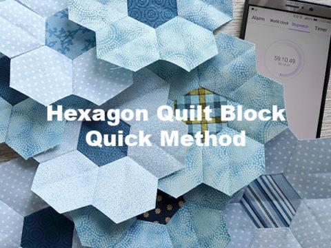 Long Hexagon Quilting Template Art Patch Making Stencil