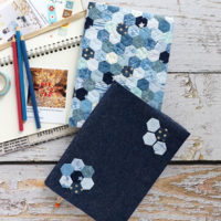 Fabric Book Cover - How To Make