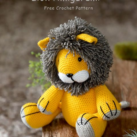 lion amigurumi pattern