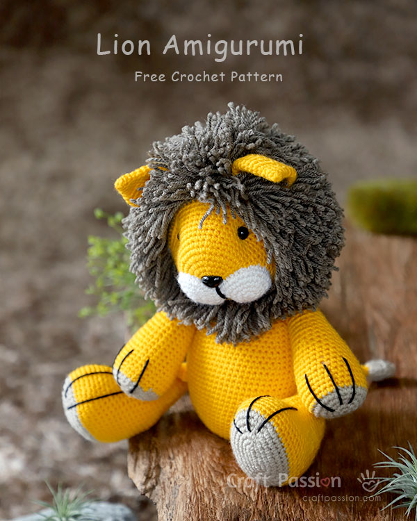 Vincent the Dragon | Free Crochet Pattern Amigurumi | Hooked by Kati | 750x600