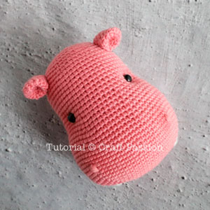 Crochet Amigurumi Hippo Mobile Free Pattern - Amigurumi Crochet ... | 300x300