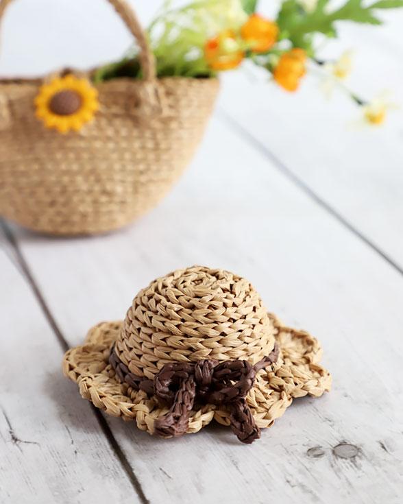 Mini Sun Hat Crochet Pattern