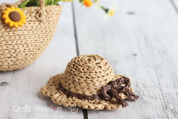 mini sun hat crochet pattern
