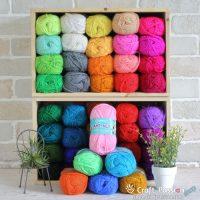Ami-Acy Acrylic Yarn, 50g/ball, 47 colors