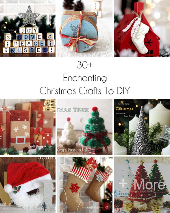30+ Enchanting Christmas Crafts To DIY