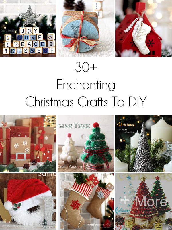 christmas crafts round-up