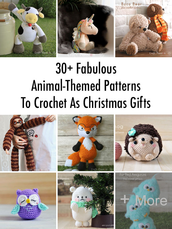 animal-themed patterns to crochet