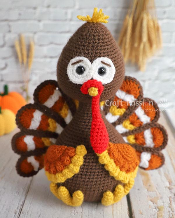 tutt turkey amigurumi