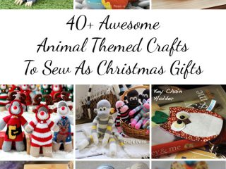 animal-themed crafts to sew