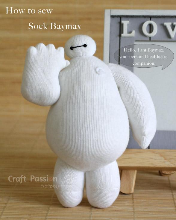 Sock Baymax