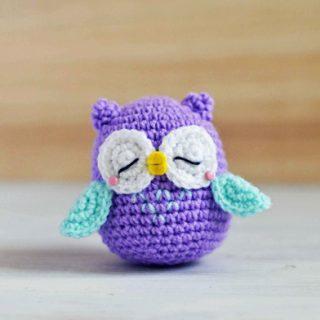 Owl Amigurumi Crochet Pattern - Mr Murasaki