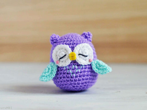How to Make a Cute Amigurumi Crochet Owl | Crochet projects, Easy ... | 360x480