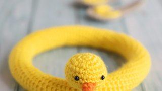duck swimming buoy amigurumi pattern