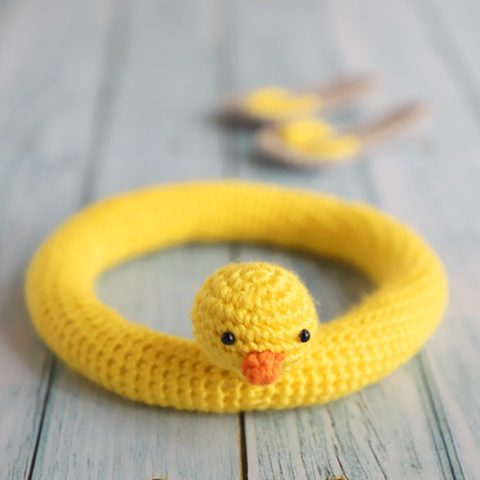 Duck Buoy Amigurumi Crochet Pattern