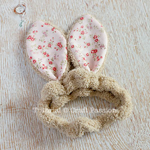 kid bunny headband