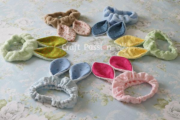 sew bunny headbands
