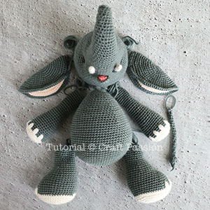 Crochet Elephant Softie and More Free Patterns Tutorials | 300x300
