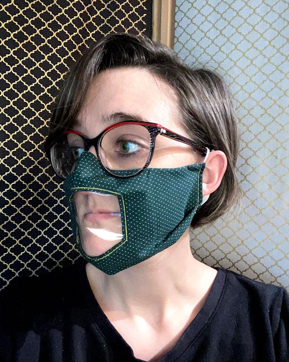 Windowed Face Mask Sewing Pattern