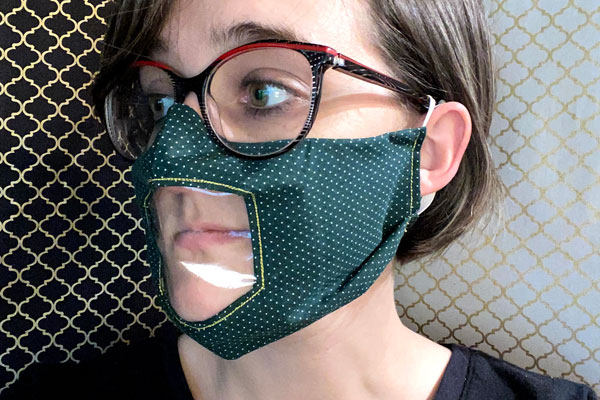 Windowed Face Mask Sewing Pattern