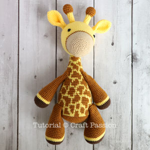 Crochet Giraffe Patterns You'll Love To Make -The WHOot | 300x300
