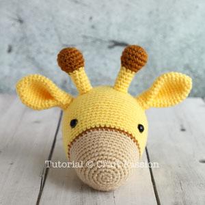 Giraffe Crochet Patterns -Amigurumi Tips - A More Crafty Life | 300x300