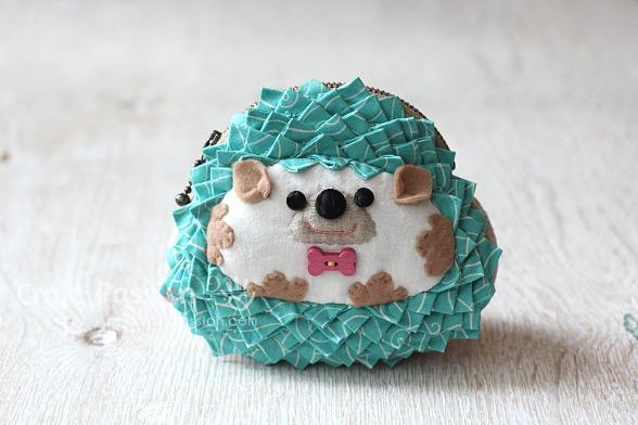 hedgehog zipper roll