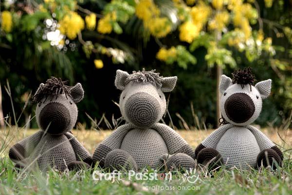 Horse Amigurumi Crochet Pattern