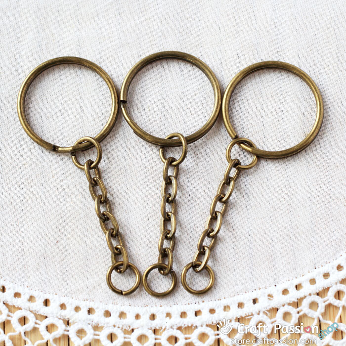 Keychain - Split Ring [3 pcs / pack]