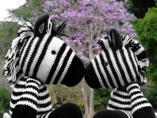 zebra amigurumi free crochet pattern