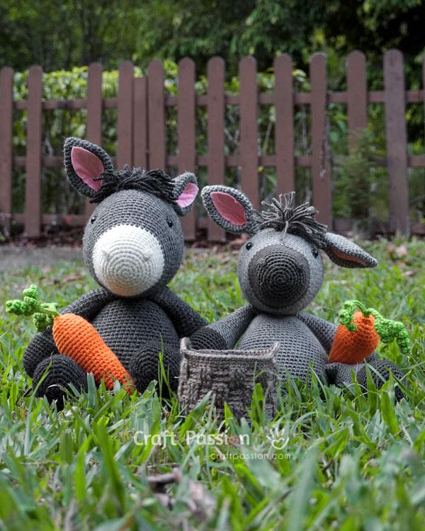 donkey doll amigurumi