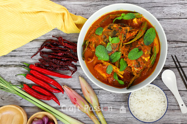 Tamarind Fish Head Curry