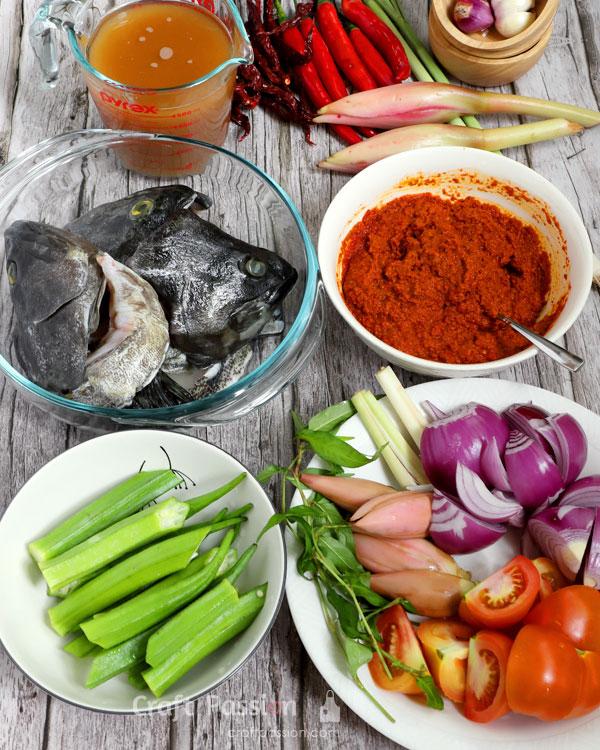 tumis fish curry