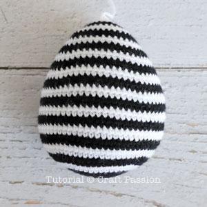 zebra amigurumi body