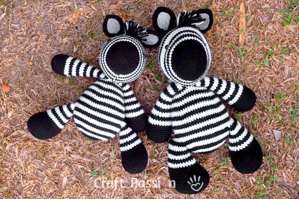 Zebra Amigurumi Crochet Pattern