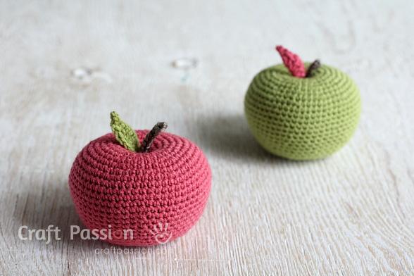amigurumi apple 4
