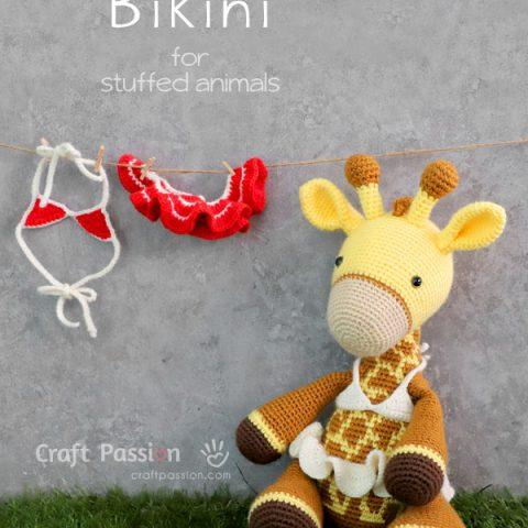 Doll Bikini Crochet Pattern