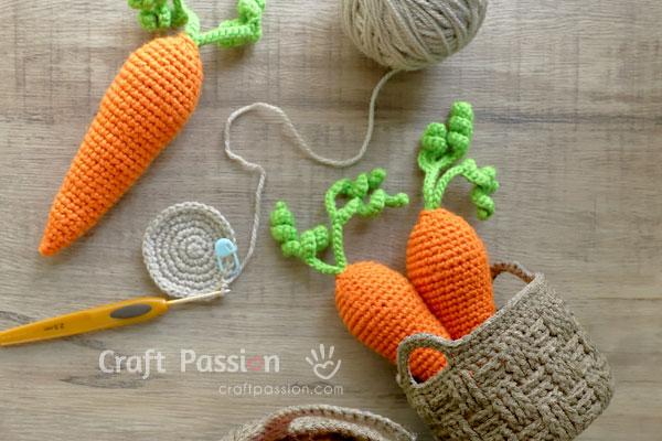 carrot crochet pattern