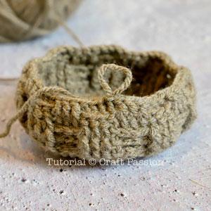 basket weave crochet pattern