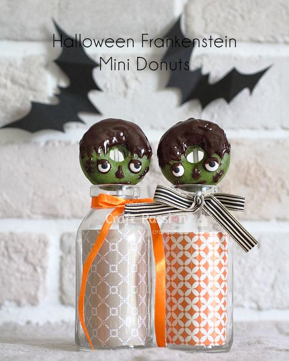 halloween frankenstein donuts couples