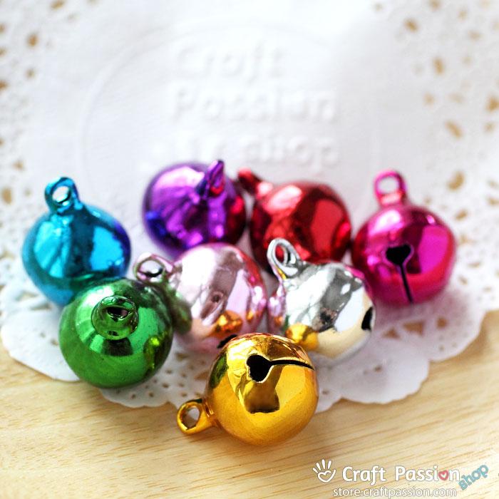 "Jingle Bell, 1/2"" - Random Color [4 pcs / pack]"