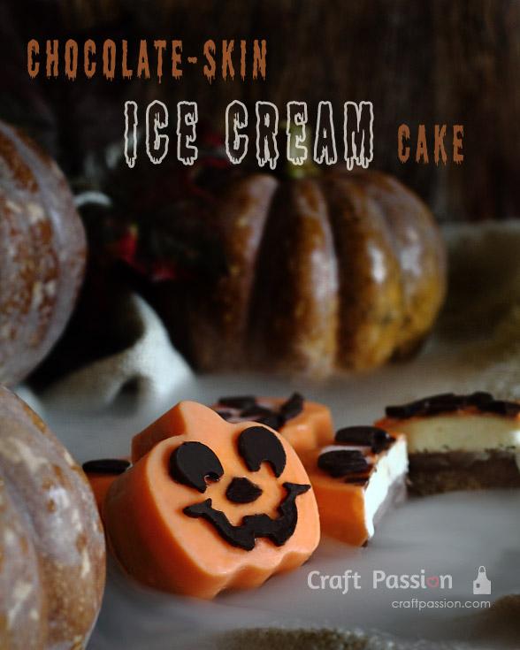 pumpkin shaped ice cream 1